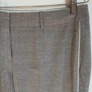 Elie Tahari trousers w/ blue detailing